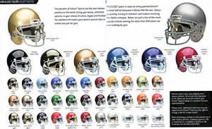 football colors football team helmets