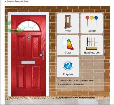 design your own door using our interactive door