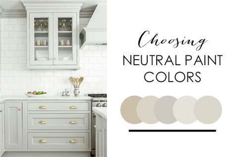 neutral paint colors tips hints for the color