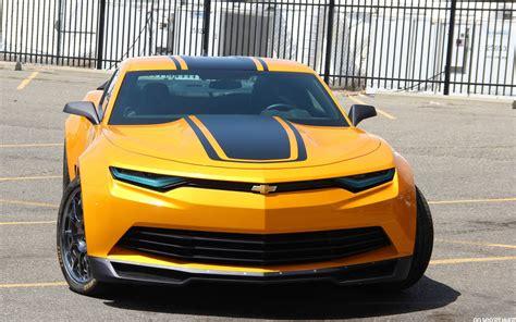 2014 Chevrolet Camaro Concept by 2014 Bumblebee Camaro Concept Wallpapers Driverlayer