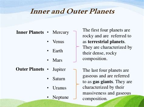Inner And Outer Compare And Contrast Essay by Compare And Contrast Inner And Outer Planets Page 2 Pics About Space