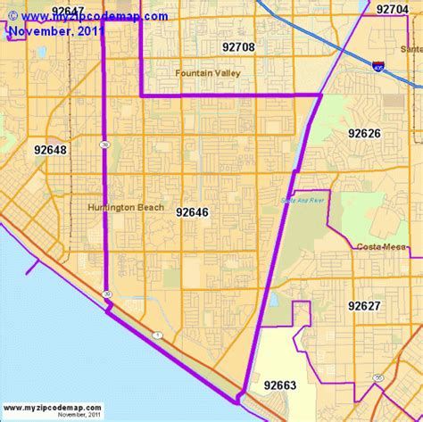 zip code map huntington beach ca zip code map of 92646 demographic profile residential
