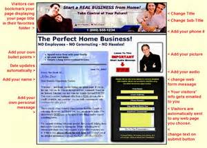 lead pages templates personalize your own network marketing lead capture pages