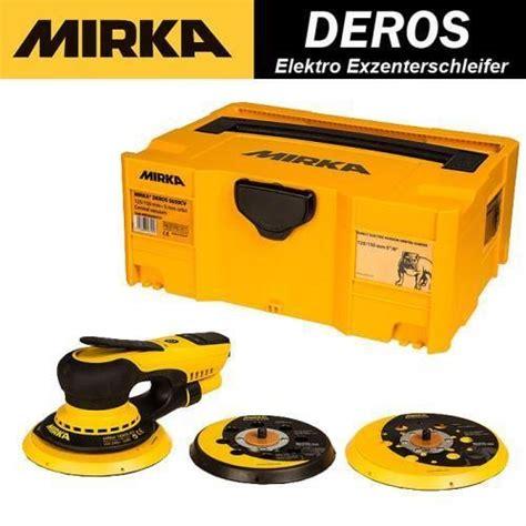 Mirka Deros Auto Polieren by Schleifmaschine Mirka Deros Exzenterschleifer 125 150 Mm