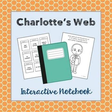 charlottes web book report charlotte s web interactive notebook novel unit study