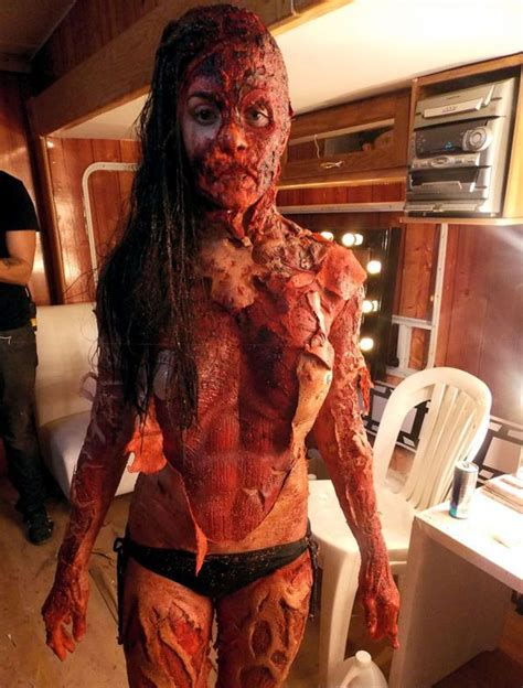 cabin fever flesh virus great make up from cabin fever patient zero 2014