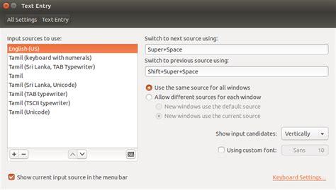 keyboard layout in ubuntu 14 04 14 04 how to use tamil typewriter keyboard in ubuntu