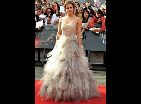 Harry Potter Premiere Watson In Chanel Couture by Photos Watson S Style