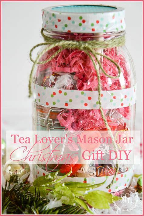 Tea Lovers  Ee  Mason Ee    Ee  Jar Ee   Christmas  Ee  Gift Ee   Idea Diy