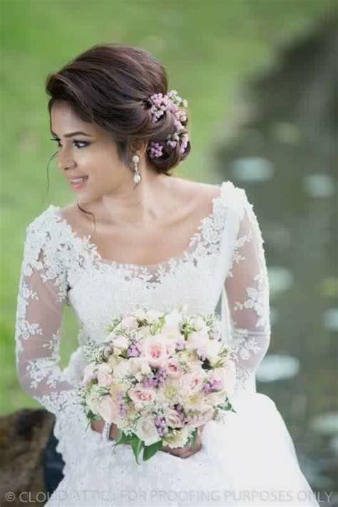 bridal hairstyles in sri lanka sri lankan fashion sri lankan weddings pinterest