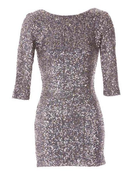 Glitter Dress silver sequin dress dressed up