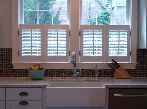 Interior Shutters For Windows Inspiration Kitchen Window Inspiration