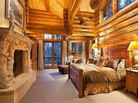 log home bedrooms log cabin bedroom style a place to rest your neck