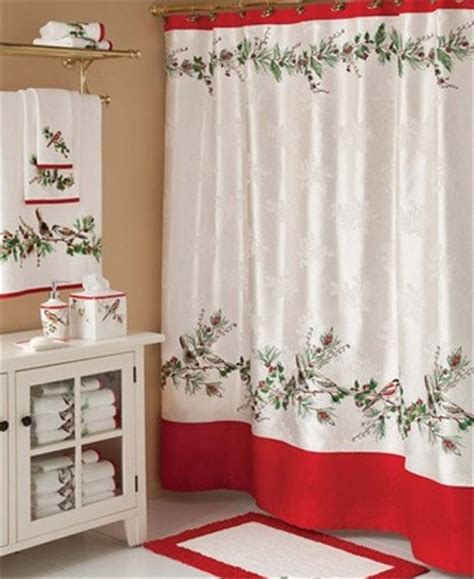 christmas shower curtains and towels 2013 christmas curtain towel set top 9 ways to decorate