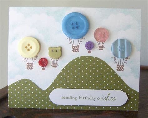 Handmade Cards With Buttons - button greeting cards part 2 14 more ideas for handmade