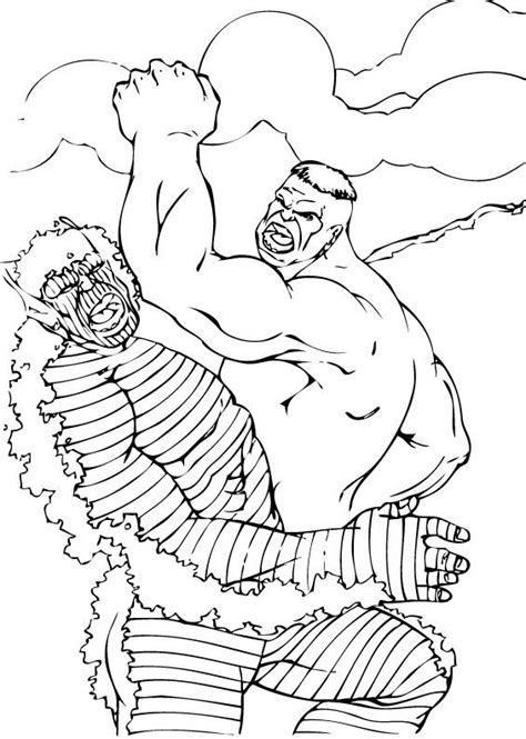 hulk abomination coloring pages hulk fights with abomination coloring pages hellokids com