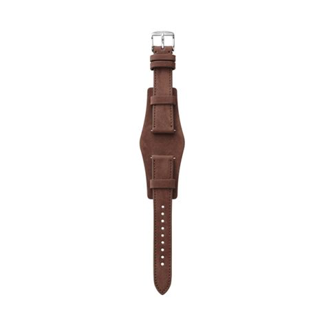 Fossil 18 Mm heirloom 18mm leather brown fossil