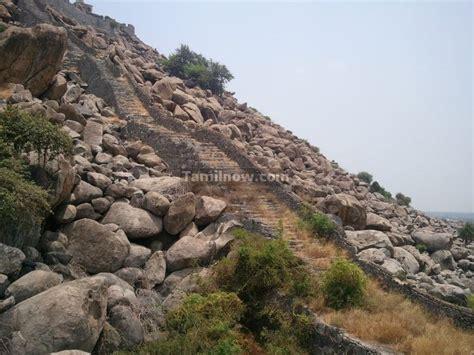 senji fort remains  villupuram district  tamilnadu