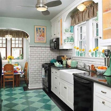 retro kitchen flooring 1930 get that retro style for your interiors
