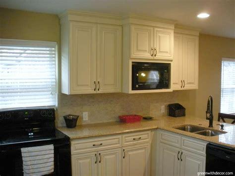 cabinets to go cincinnati picking counters quartz versus granite green with decor