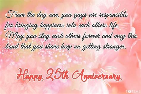 Wedding Anniversary Wishes For Parents In Kannada by 25th Wedding Anniversary Wishes Messages Quotes Images