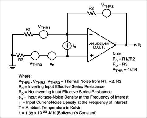 resistor current noise uv v 低噪声放大器 放大器 中国百科网