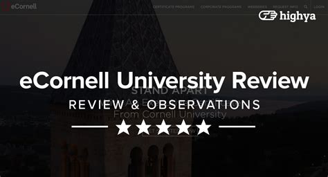 Cornell Executive Mba Review by Ecornell Reviews Is It A Scam Or Legit