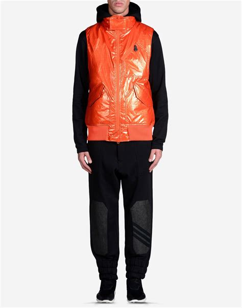 Sale Bomber Stealth Iceberg Grey y 3 stealth sleeveless gilet in orange for lyst
