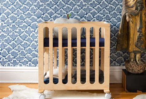 bassinet converts to crib oeuf s fawn system converts from a bassinet on wheels to a