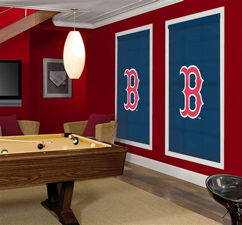 make your room with officially licensed mlb logo window shades