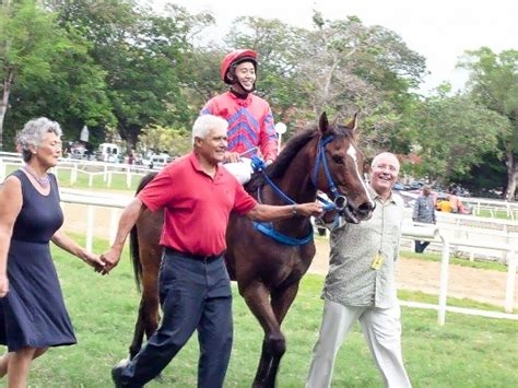 horse outside wins again for racing club norahmac racing qin yong wins again in barbados china horse club