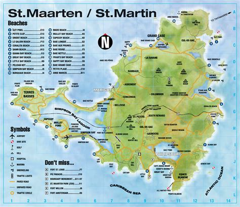 st martin map map of st martin hotels pictures to pin on pinsdaddy