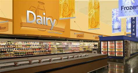 grocery store design dairy area design grocery store