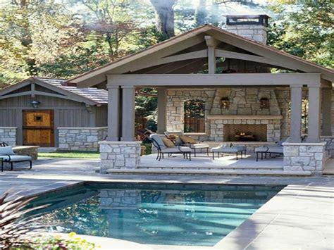 backyard design ideas pool backyard retreat fireplace