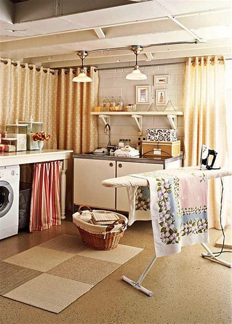 laundry room curtains decor 33 coolest laundry room design ideas basement ideas