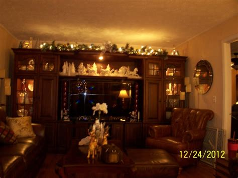 entertainment center christmas christmas pinterest