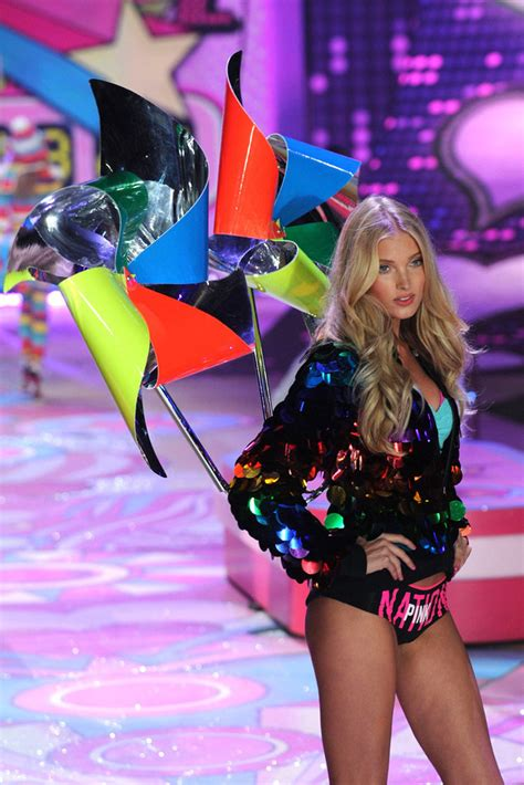fashion show 2012 elsa hosk at 2012 s secret fashion show in new