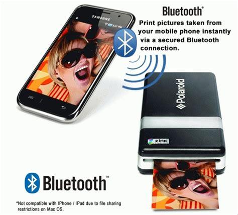 pogo mobile jual polaroid pogo instant mobile printer to go on di