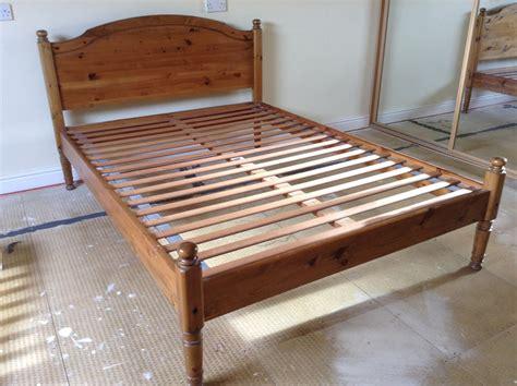 antique pine bed frame for sale antique pine bed frame stafford forum