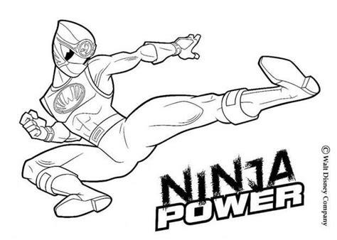 Coloriages Ninja Power Rangers Fr Hellokids Com