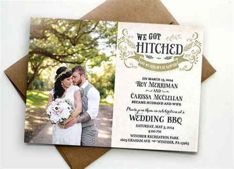 Photo Wedding Invitations by 24 Photo Wedding Invitations Free Sle Exle