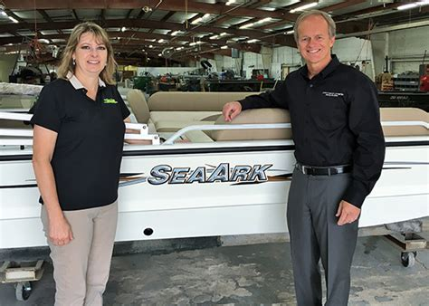 edgewater boats ceo correct craft acquires seaark boats trade only today