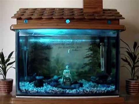fish decor for home fish tank decoration house fish tank youtube