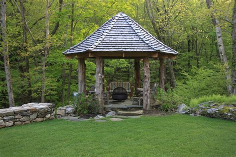 Patio Screened Gazebo by Screened Gazebo Plans Patio Traditional With Bistro Table