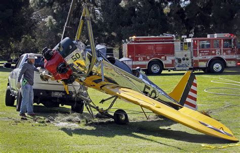harrison ford plane crash photo ap