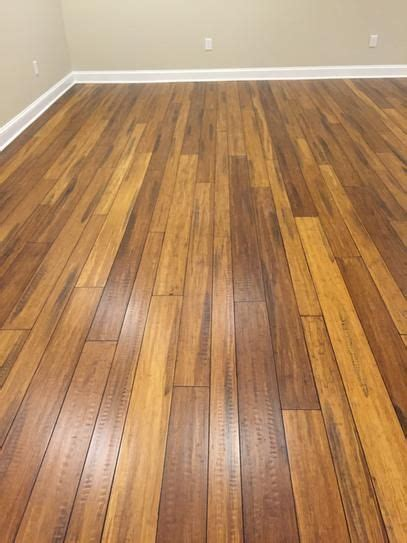 Distressed Honey Bamboo Flooring Home Depot - home the o jays and honey on