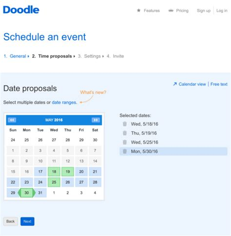 how to schedule an event in doodle md tech tips use doodle to schedule meetings with