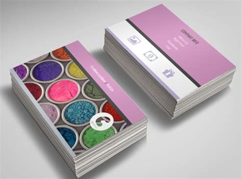 Business Card For Artists Templates by Makeup Artist Business Cards Templates Fre Business