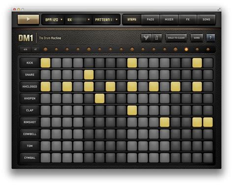 list pattern beatbox mac gems looking for the perfect beat start with dm1
