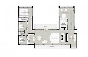 modern u shaped house plans
